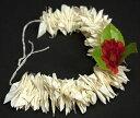 南インドの髪飾り 白い花 / あす楽