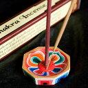 蓮の花のミニお香立て【直径約6cm】 / ネパール チベット香 インド香 レビューでタイカレープレゼント あす楽