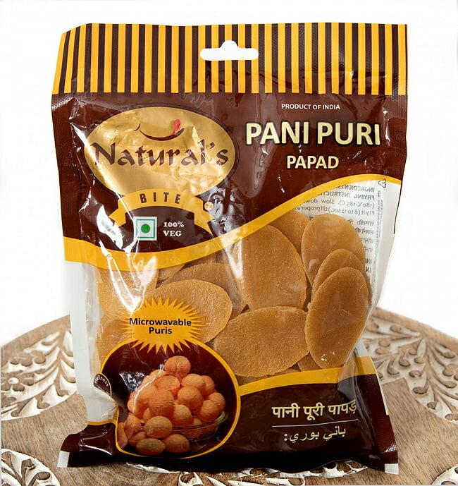 パニプリ・パパド Pani Puri Papad / ストリートスナック インド あす楽