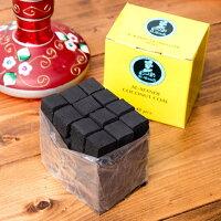 シーシャの炭 COCONUT COAL 48個入り / 水タバコ フレーバー 水パイプ sheesha エスニック インド アジア 雑貨