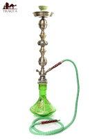 【送料無料】 シーシャ(水タバコ)緑【約76cm】 / 水パイプ 水煙管 フッカー ナルギレ エスニック インド アジア 雑貨