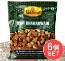 【6個セット】インドのお菓子 Mini Bhakarwadi ミニバッカルワリ / ハルディラム インスタント スナック アジアン食品 エスニック食材