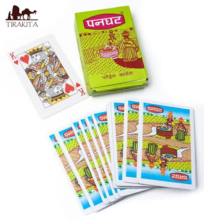 インドのトランプ 【インドの村人】 / おもちゃ あす楽