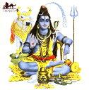 神様デコレーションタイル シヴァ / インド アジア ガネーシャ エスニック 雑貨