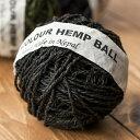 カラーヘンプボール-黒 / 糸 レビューでタイカレープレゼント あす楽