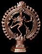 ダンシング・シヴァ【56.5cm】【送料無料】 エスニック インド アジア 雑貨 ナタラージャ シヴァ像 神様像 置物