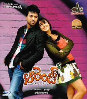 特拉古文電影橙色 BD 印度電影 DVD 光碟藍光 2010年寶萊塢