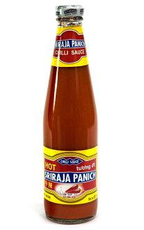 chirisosushiraja瓶L尺寸媒介熱570g]| [用評論贈送50日圆優惠券]泰國菜智利辣醬油食品食材族群亞洲印度