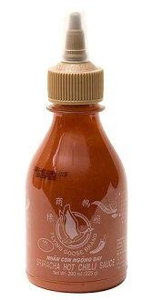 智利辣醬油[大蒜]-shirachashirizu[200ml][Flying Goose]| [用評論贈送50日圆優惠券]智利辣醬油泰國菜食品食材族群亞洲印度
