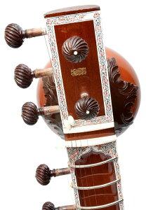【PALOMA社製】ダブルトゥンバシタール+グラスファイバーケース | 【送料無料】 楽器 Sitar インド 弦楽器 民族楽器 アジア エスニック