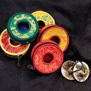 ディンシャカバー(大 8.7cm程度) / チベタンベル マンジーラ ネパール 楽器 民族楽器 打楽器 インド楽器 エスニック楽器 ヒーリング楽器