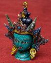ターラー菩薩 高さ:約19 【送料無料】 エスニック インド アジア 雑貨 ネパール 像 神様 仏像 チベット 密教 ブッダ像