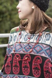 ダッカ織りのふわふわクルタシャツ | 【送料無料&300円クーポン進呈】 セーター レディース