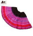 ショッピングエスニック モン族の古布プリーツスカートミニ / 子供服 ショート レディース エスニック衣料 アジアンファッション エスニックファッション
