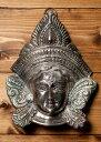 ショッピングダナー 〔壁掛けタイプ〕インドの神様ウォールハンギング アルダナーリーシュヴァラ〔24cm〕 / Ardhanarishvara シヴァ パールヴァティ 壁掛け像 仏像 置物 レビューでタイカレープレゼント あす楽