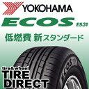 新品 ヨコハマ ECOS ES31 205/60R15 91H YOKOHAMA エコス ES31 205/60-15 夏タイヤ※ホイールは付属いたしません。