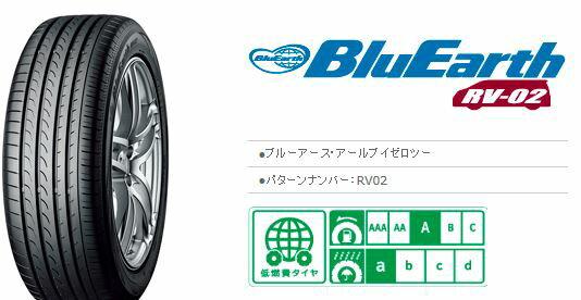 【送料無料】【新品】【乗用車用タイヤ】215 オンライン/45R17 ヨコハマタイヤ BluEarth RV-02:タイヤ&ホイールプラザ