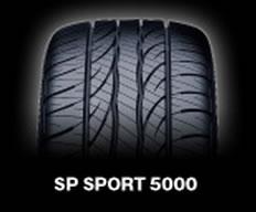 【送料無料】【新品】【乗用車用タイヤ】275/55R17 ダンロップ SP SPORT 5000 ベンツ MLクラス 専用タイヤ 【独特】