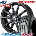 205/65R16 95H YOKOHAMA ヨコハマ BLUE EARTH RV02 ブルーアース RV-02 FINALSPEED GR-Γ ファイナルスピード GRガンマ サマータイヤホイール4本セット