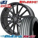 225/50R18 95V YOKOHAMA ヨコハマ BLUE EARTH RV02 ブルーアース RV-02 Leyseen SP-M レイシーン SP-M サマータイヤホイール4本セット