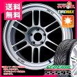 サマータイヤ 205/55R16 91W フェデラル SS595 & ENKEI エンケイ レーシング RPF1 7.0-16 タイヤホイール4本セット