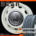 サマータイヤ 155/55R14 69V ハンコック ベンタス V8RS H424 & ディーン ミニ 5.0-14 タイヤホイール4本セッ...