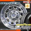サマータイヤ 215/65R16 109/107R グッドイヤー イーグル #1 ナスカー ホワイトレター & MLJ デイトナ SS クローム 7.0-16 タイヤホイール4本セット