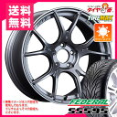 サマータイヤ 205/40R17 80V フェデラル SS595 & SSR GTX02 7.0-17 タイヤホイール4本セット
