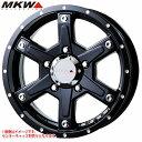 MKW MK-56 ミルドブラック ジムニー専用 5.5-16 ホイール1本 MK-56 Milled Black