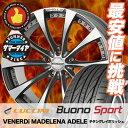 225/45R18 LUCCINI ルッチーニ Buono Sport ヴォーノ スポーツ VENERDi MADELENA ADELE ヴェネルディ マデリーナ アデーレ サマータイヤホイール4本セット