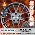 235/35R19 サマータイヤ ホイールセット ファルケン(FALKEN) ジークス(ZIEX)ZE912 Vエボリューション VOGA 4本セット