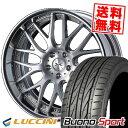 235/30R20 88Y XL LUCCINI ルッチーニ Buono Sport ヴォーノ スポーツ weds MAVERICK 709M ウエッズ マーべリック 709M サマータイヤホイール4本セット
