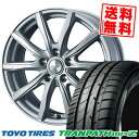 205/65R16 95H TOYO TIRES トーヨー タイヤ TRANPATH mpZ トランパス mpZ JOKER SHAKE ジョーカー シェイク サマータイヤホイール4本セット