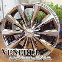 【ホイール単品1本価格】【VENERDi/ヴェネルディ】VENERDi MADELENA/ヴェネルディ マデリーナ17X7.0J 4穴/PCD:100カラー:BMC POLISH