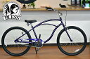 【BLESSブレス自転車】BLESS CCB 1s/パープル ブレス ビーチクルーザー