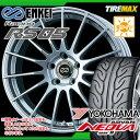 サマータイヤ 225/45R18 91W ヨコハマ アドバン ネオバ AD08 R & ENKEI エンケイ レーシング RS05 7.5-18 タイヤホイール4本セット