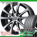 サマータイヤ 215/45R17 91W XL ダンロップ エナセーブ RV504 & TRG-BAHN XP 7.0-17 タイヤホイール4本セット