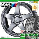 サマータイヤ 175/60R16 82H ヨコハマ エコス ES31 & SSR GTV01 5.5-16 タイヤホイール4本セット