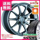 サマータイヤ 245/35R19 93W REINF フェデラル SS595 & SSR GTV02 8.5-19 タイヤホイール4本セット