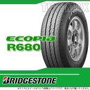 サマータイヤ 155R12 8PR ブリヂストン エコピア R680 チューブレスタイプ BRIDGESTONE ECOPIA R680 【バン/トラック用】