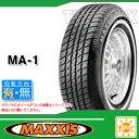 サマータイヤ P195/75R14 92S マキシス MA-1 ホワイトリボン MAXXIS MA-1