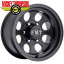 ミッキートンプソン クラシック3 ブラック 8.0-15 ホイール1本 MICKEY THOMPSON Classic 3 BLACK