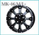 【メーカー取り寄せ】【ホイール1枚】【ジムニー専用】【MKW】MK-46 M/L+16×5.5 PCD139/5H +22カラー:ミルド ブラック