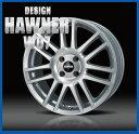 【ホイール1枚】 ハウナーデザイン W07 16×6.5J PCD100/4H +42 ハブ径:φ73.1 カラー:S