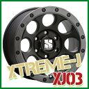 【ホイール1枚】 MLJ XTREME-J XJ03 17×8.0J PCD139/6H +20 ハブ径:106.2 カラー:フラットブラック/スモークフランジ...