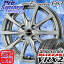 ブリヂストン ブリザック VRX2 新商品 185/55R16HotStuff エクシーダー E03 16 X 6 +45 4穴 100