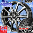 MANARAY EuroSpeed V25 15 X 5.5 +40 4穴 100ブリヂストン REVO GZ 2016年製 185/65R15