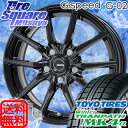 HotStuff 軽量!G.speed G-02 17 X 7 +38 5穴 114.3TOYO WinterTranpath MK4α 16年製 225/60R17