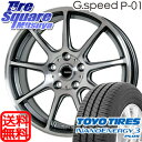 TOYOTIRES NANOENERGY3plus 215/45R17HotStuff G.speed P-01 17 X 7 +50 5穴 100