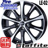 HotStuff ラフィット LE-02 16 X 6.5 +53 5穴 114.3ブリヂストン REVO GZ 15年製 205/60R16